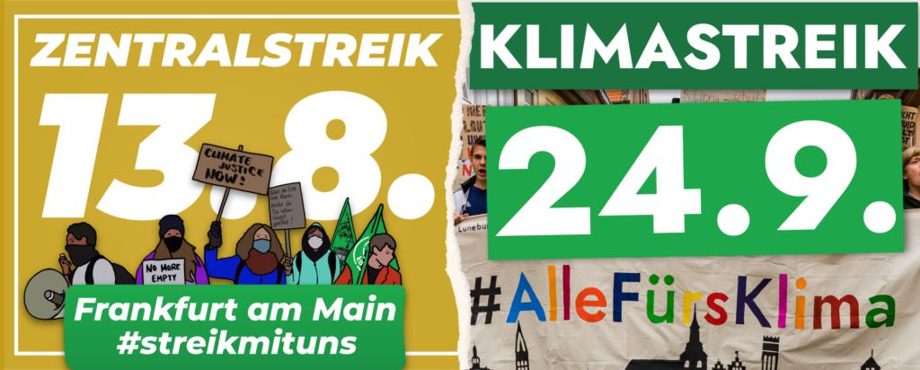 Unverpackt Laden Frankfurt und Klimastreik